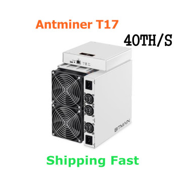 BITAMAIN Used BTC BCH Miner AntMiner T17 40TH/S With PSU Better Than S17 Pro T17e S17e S15 S11 S9 T15 WhatsMiner M3X M21S M20S