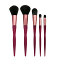 5PC Makeup Brush Collection