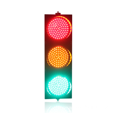 PC material DC12V 200mm led traffic light
