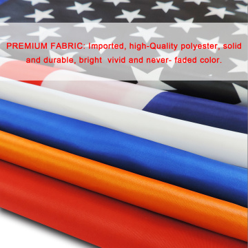 High Quality Polyester France Hand Flag