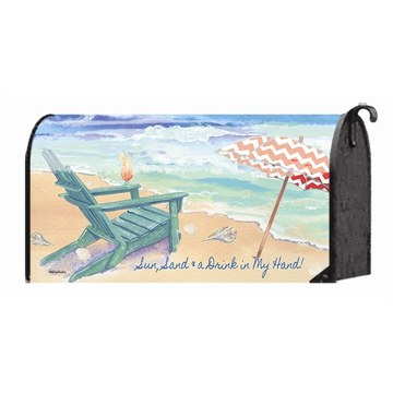 Custom Outdoor Beach Chair Magnetic Mailbox Cover
