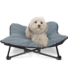 Dogs Cat Bed with Folding Metal Frame