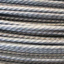 4.8mm Spiral Ribs PC Steel Wire to Myanmar