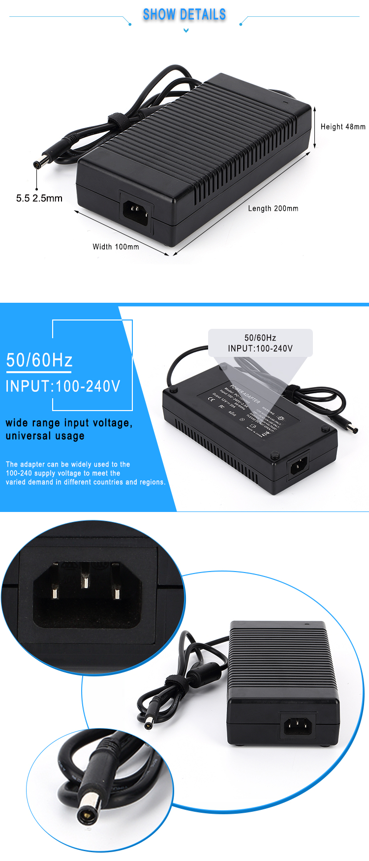 power supply adapter (2)