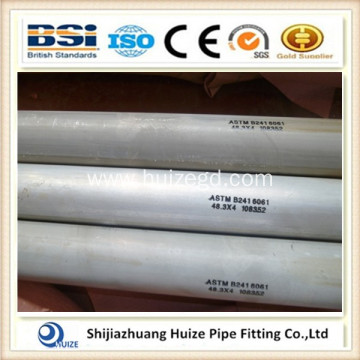 6061 extruded aluminium round tube