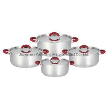 8PCS Stainless Steel Silicon Accessory