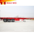 Tri Axles 40ft Skeletal Container Semi Trailer
