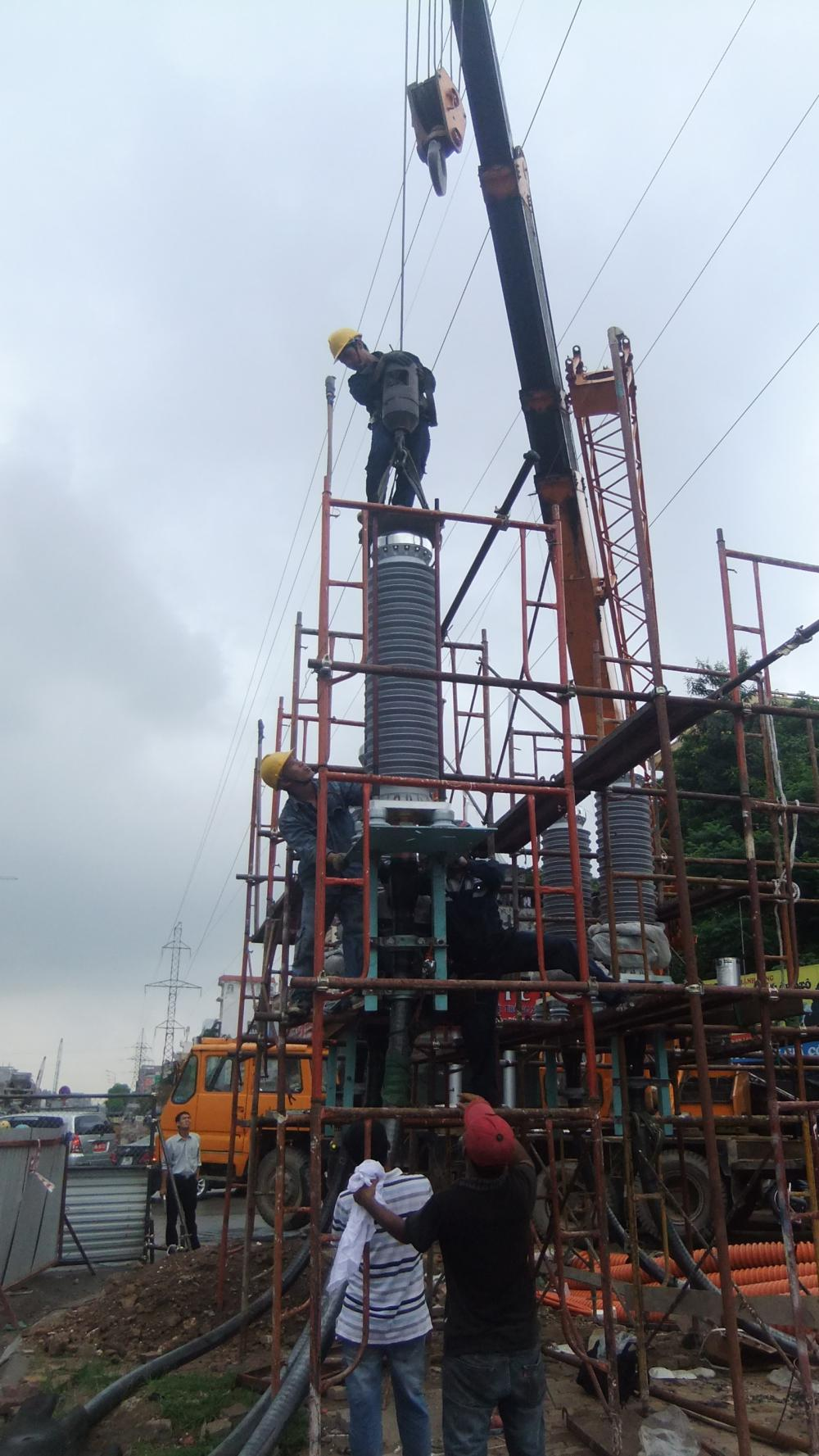123KV CABLE AND ACCESSORIES INSTALLATION JOBSITE