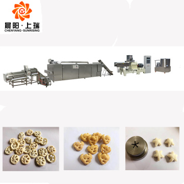 Corn puff snack food making machine