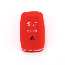 Eco-friendly silicone range rover sport key fob cover