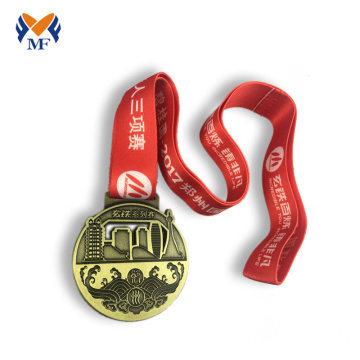 Custom ironman triathlon medals for sale