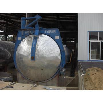 Automatic AAC autoclave fly ash block China Manufacturer