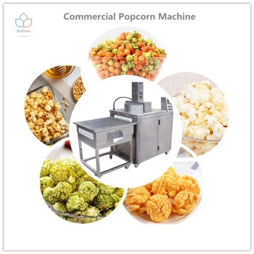 Sweet popcorn making machines