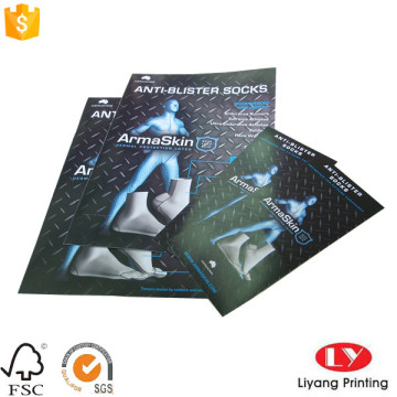 Full color flyer booklet with logo printed