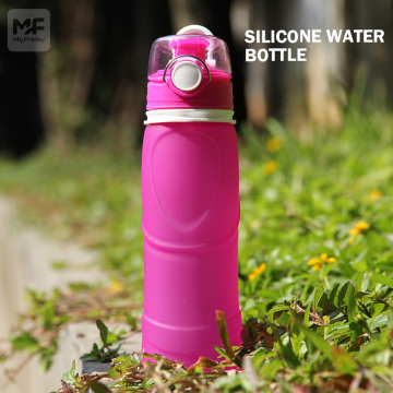 Silicone Retractable Water Bottle | Food grade silicone
