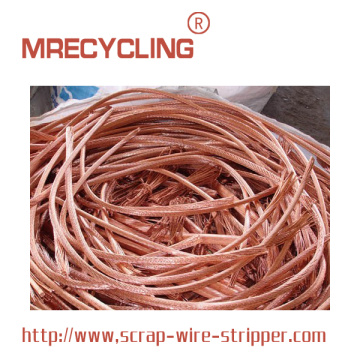 Stripping Copper Cable For Money