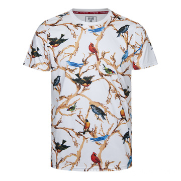 Moisture Wicking Dry Fit T Shirt Bird