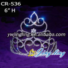 Flower Shape Cheap Pageant Crowns