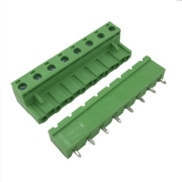 28-12AWG 15A brass 8pin PCB pluggable terminal block