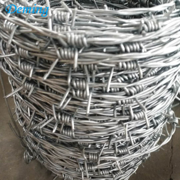 Factory Cheap Price Stainless Metal Galvanized Barbed Wire