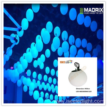 Digital RGB LED 3D hanging ball Disco Light