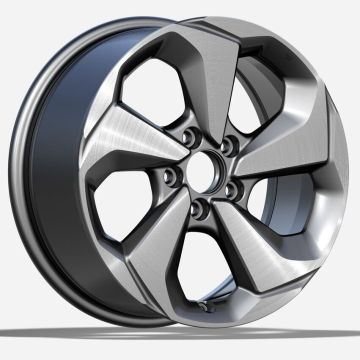 Aluminium Civic Custom Rim 18x8 Gunmetal