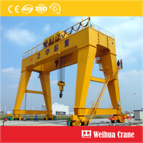 50t double girder goliath crane