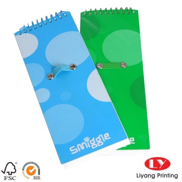 Soft cover Spiral Notebook with custom printing