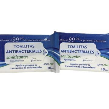 99.9% Antibacterial Wet Wipes Hygienic Skin Care