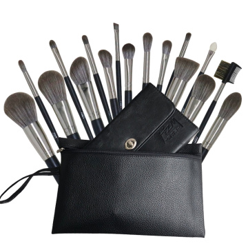 17Pcs Professional best quality makeup brush set