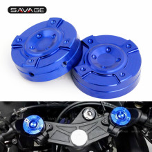 For YAMAHA YZF R3 2015-2018 YZF-R25 2014 2016 Motorcycle Accessories Front Fork Cap Covers Triple Tree Stem Yoke Center Cap