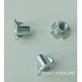 Furniture nuts Tee Nuts-4p