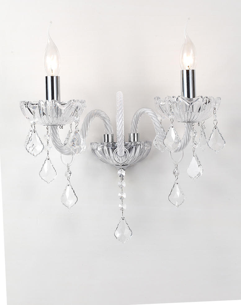 crystal wall light modern