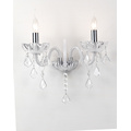 European Style Modern Indoor Crystal Wall Lamp