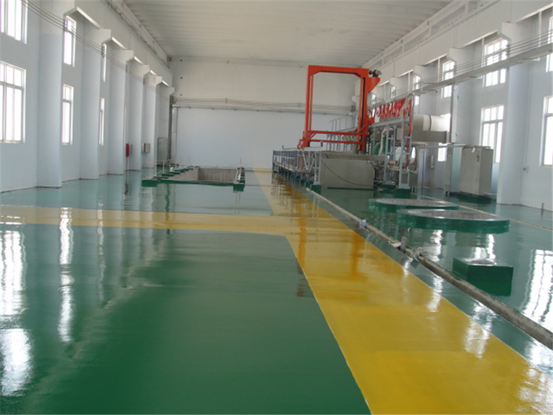 epoxy coating on concrete