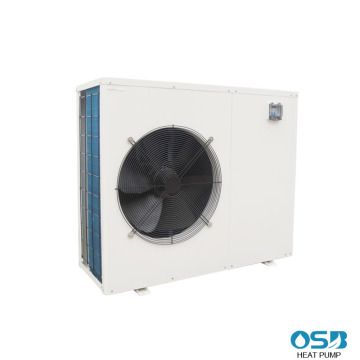 White casing inverter heat pump for swimming pool
