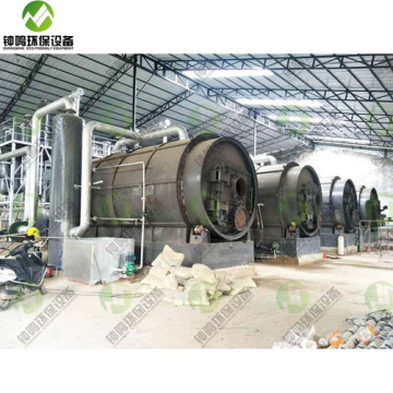 Zhongming Eco-Friendly Beston Waste Tyre Recycling Plant Process Cost