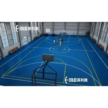 PVC Basketball Court Mat Multi-sport Vinyl Flooring