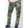 100% cotton long bottom camouflage Pants