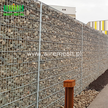 Galvanized Gabion Caged Stone Walls For Sale