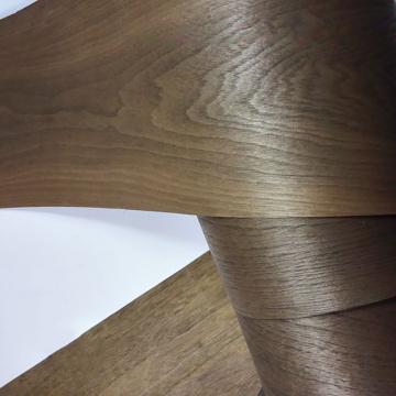 Natural black walnut veneer thin speaker veneer renovation handmade DIY veneer solid wood decorative panel skin