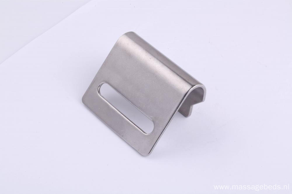 50MM FLAT SNAP HOOK STAINLESS STEEL 800kg