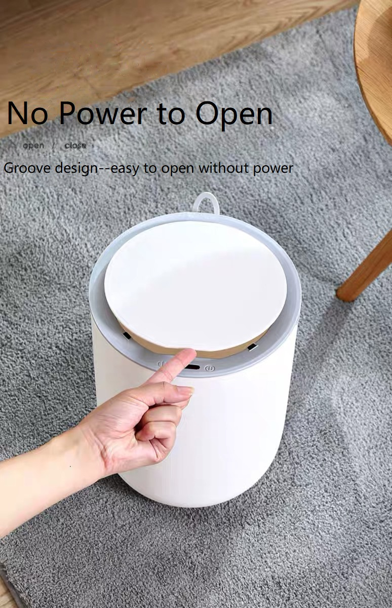 Plastic Sensor Dustbin with Handle