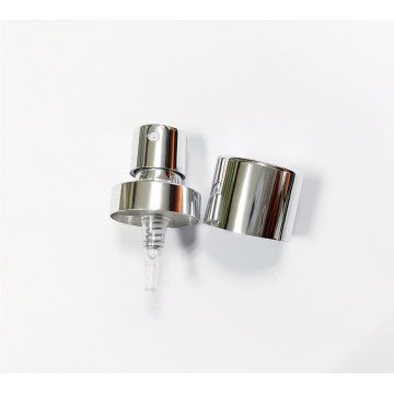 Silver FEA20mm perfume crimp pump with aluminum collar