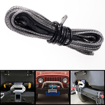 Heavy duty vehicle UHMWPE towing tow rope