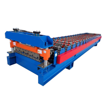 Trapezoidal Panel Roof Roll Forming Machine