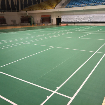 Enlio Vinyl Badminton Floor sports floor