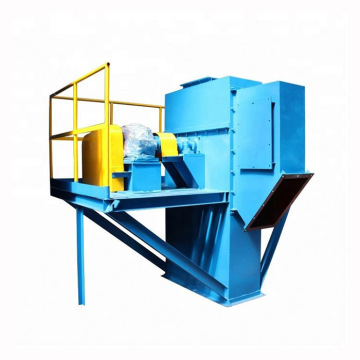 Bucket elevator transfer raw materials