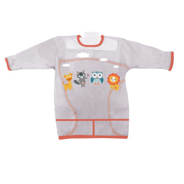 PVC Transparent Kitchen Apron For Children