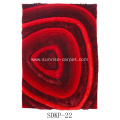 Silk Polyester Shaggy 3D and 4D
